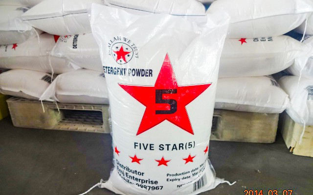 5 Star Detergent Powder – 10Kg – Gambia