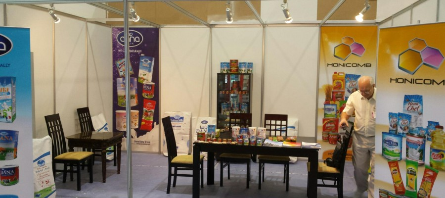 Gulfood at Dubai and Honicomb Presence